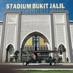 The Bukit Jalil National Stadium is among the 15 biggest stadiums in the world.