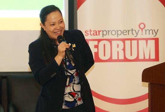 """Buy property then wait, not wait then buy property,"" said Chan."