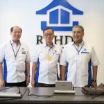 From left: Rehda deputy president Datuk Khor Chap Jen, Rehda president Datuk Ir Soam Heng Choon and Rehda immediate past president Datuk Seri FD Iskandar Mohamed Mansor.