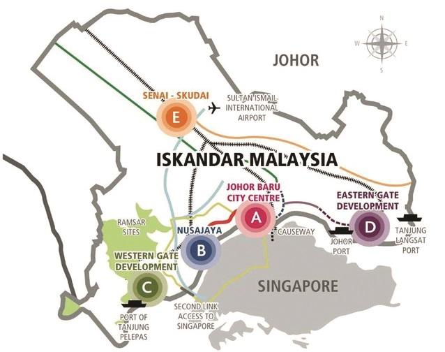 Iskandar Malaysia_Johor_flagship zone