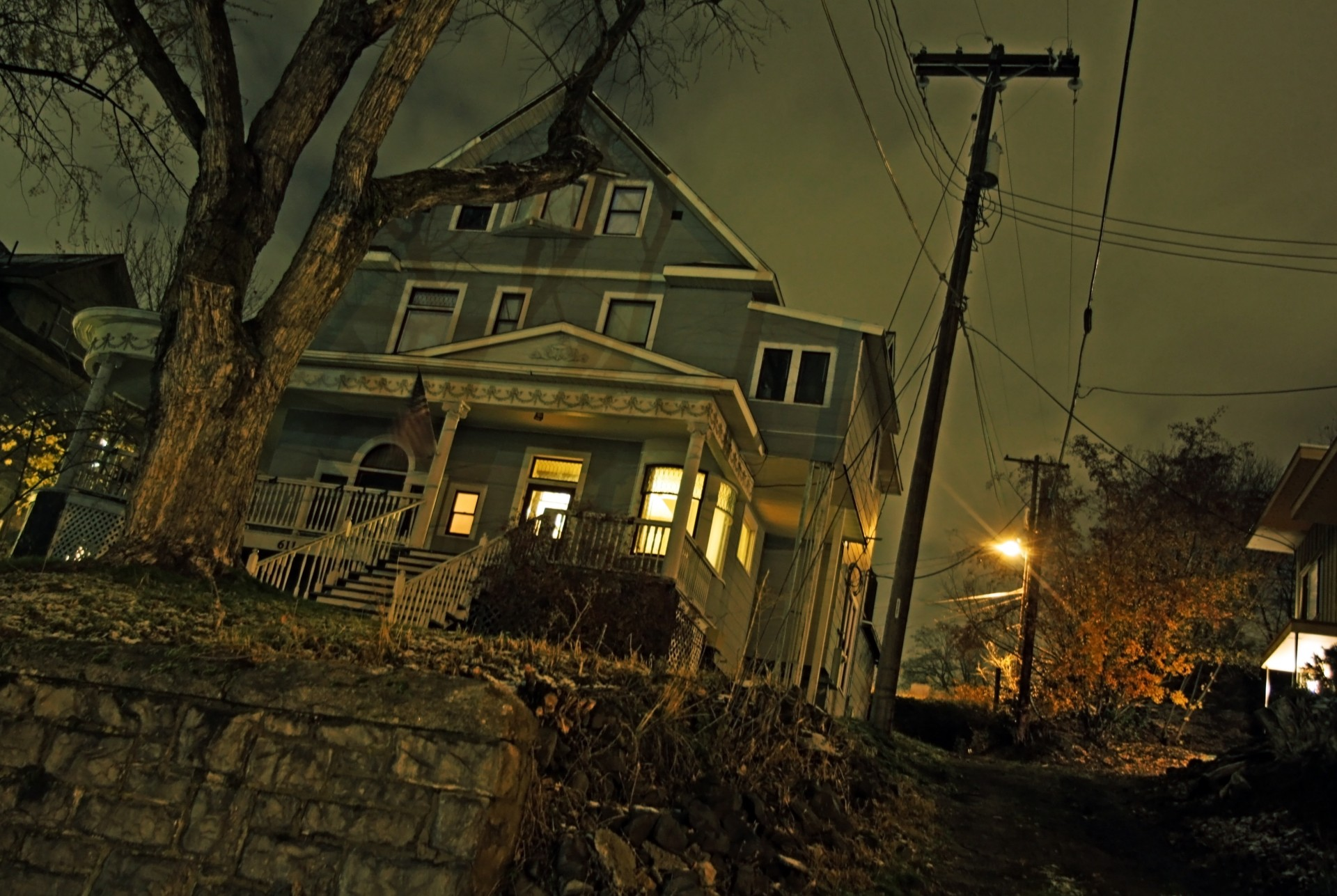 are haunted houses the way to go?
