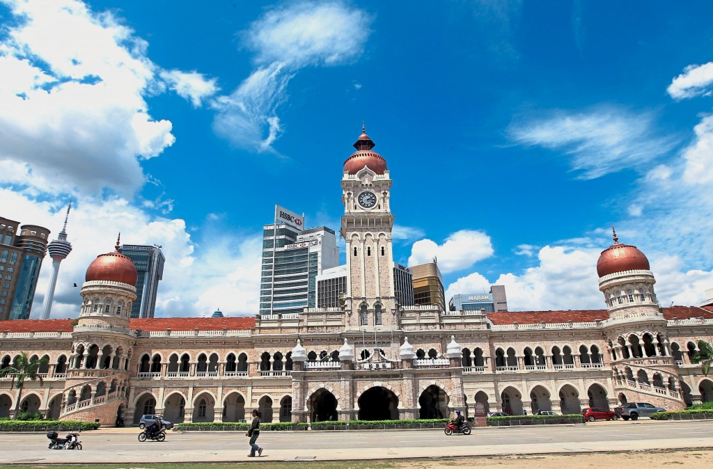 Sultan Abdul Samad building.  Art Chen/ The Star.