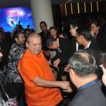 Johor Ruler Sultan Ibrahim Ibni Almarhum Sultan Iskandar and Tunku Mahkota Johor Tunku Ismail Ibni Sultan Ibrahim arriving at the StarProperty.my Awards 2018: Jewels of Johor at Thistle Hotel, Johor Baru.