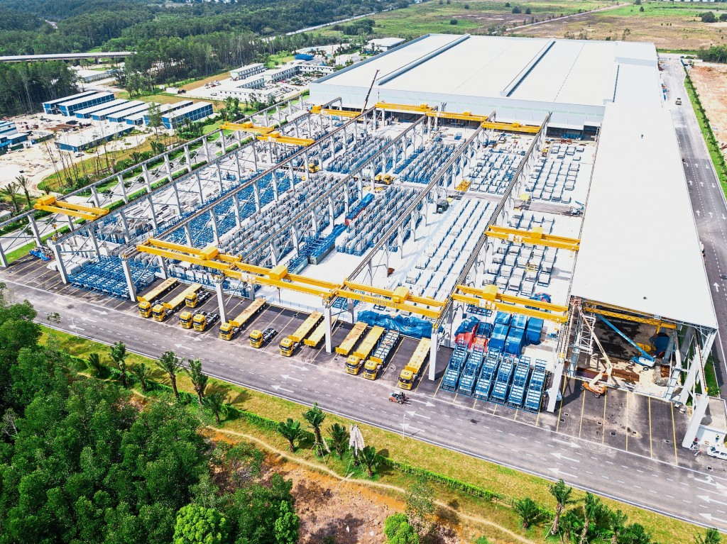 Country Garden has invested RM730mil to build Malaysia's largest Industrialised Building System base in Gelang Patah, Johor.