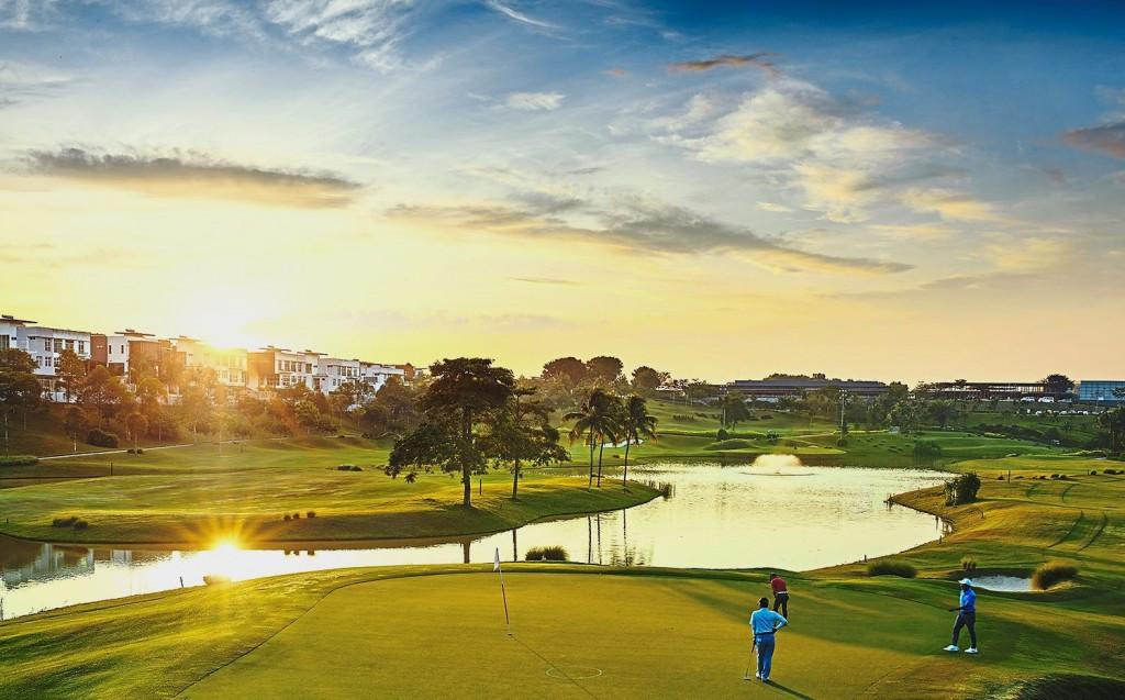 The par - 72 Ross Watson Signature Designed 18-hole Golf Course.