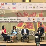 The panelist: (from left) Property Pricetag Sdn Bhd chief executive officer Cha Ly Koh, Khazanah Research Institute Malaysia director Dr Suraya Ismail, Rehda Institute Malaysia chairman Datuk Jeffrey Ng Tiong Lip, and Rehda Youth member James Tan as the moderator.