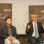 From left: Arup Malaysia principal and Arup Australasia region board member Tong Veng Wye and Arup director and group board member Fergal Whyte
