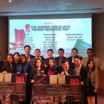 The Year 2018 top performers with their mock tickets to Taiwan