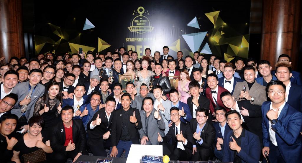 Unity Realty Sdn Bhd Star Property.my Real Estate Awards 2018 at New World Hotel in Petaling Jaya.