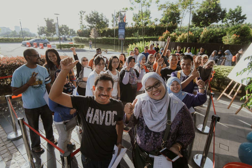 Excitement fills the air as homeowners await their turn to select their respective Suria Pantai units which is set to home hundreds of families by 2022.
