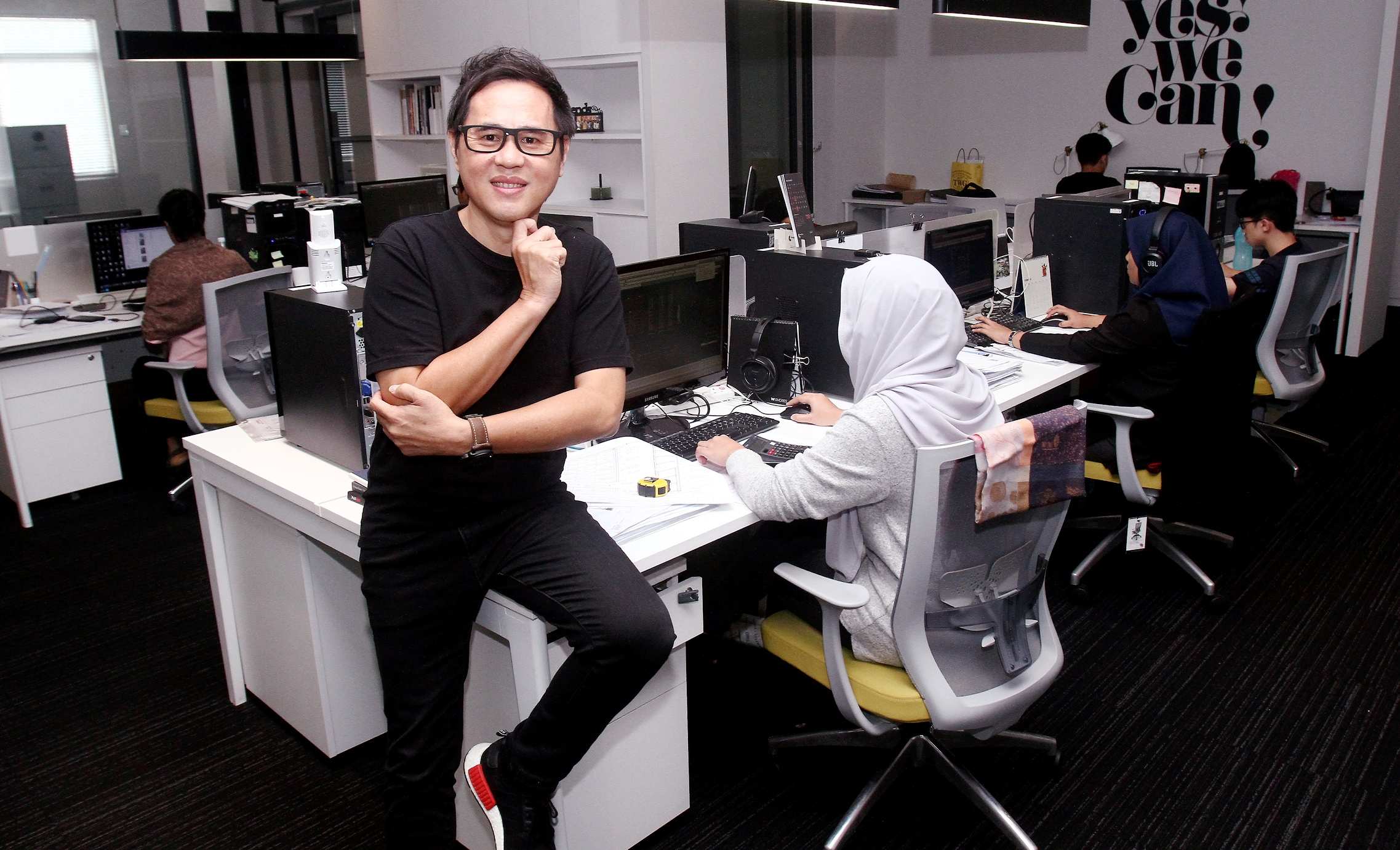 Interview Ooi Design's CEO for StarProperty's January pullout.