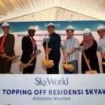 SkyWorld project SkyAwani2 topping off ceremony NORAFIFI EHSAN / The Star