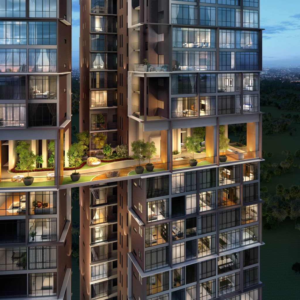 Residents will get to enjoy the benefits of corner units