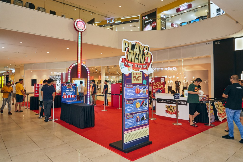 Play 2 Win Carnival is happening in front of Rakuzen, Sunway Velocity Mall