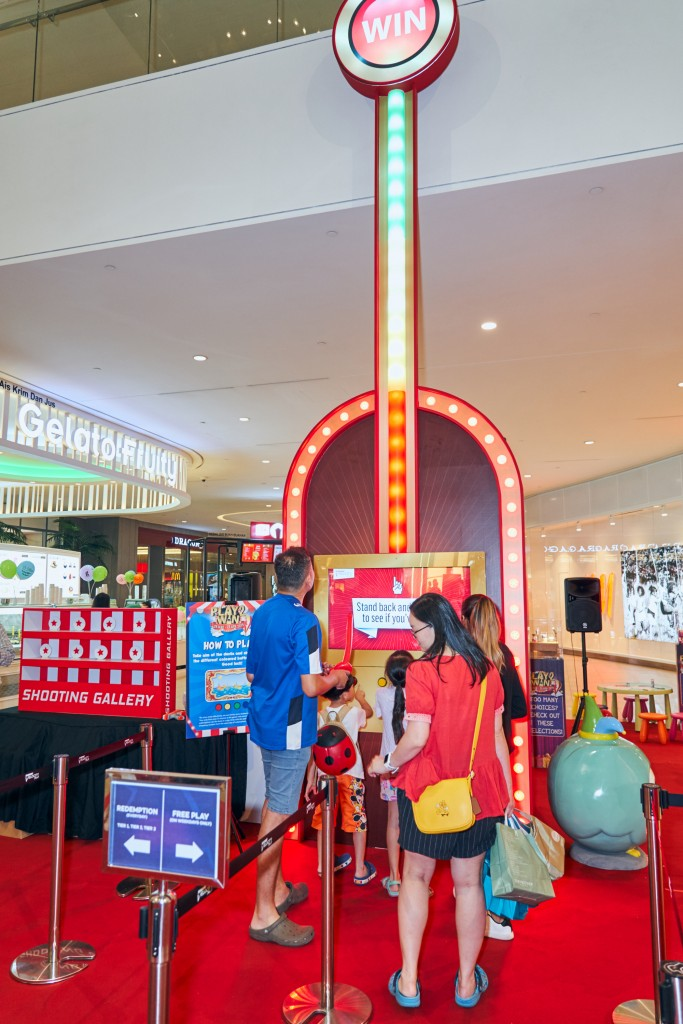 The 20-foot tall Giant Arcade Game is as exciting as it looks!