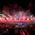Fireworks during the closing ceremony of the 29th KL Sea Games at the National stadium in Bukit Jalil.(30/08/2017/S.S.KANESAN/The Star)