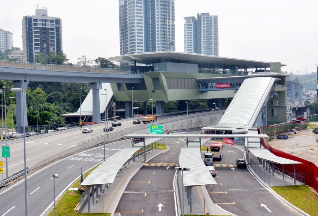 The Pusat Bandar Damansara MRT station has boosted the value of nearby developments.