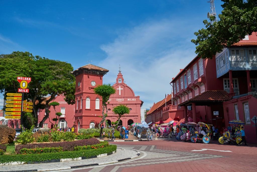 City Center in Melaka