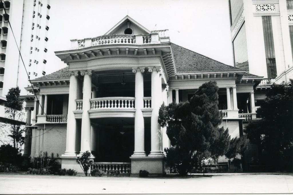 The original Bok House.