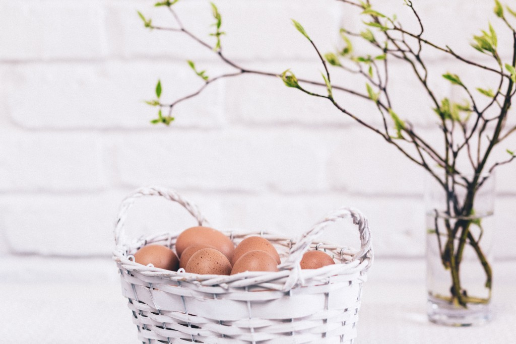 The upside of putting all your eggs in one basket: just one location for all your eggs. Photo by freestocks.org on Unsplash.