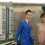 TA Global Bhd CEO Tiah Joo Kim, and TA Enterprise Bhd Managing Director Datin Alicia Tiah at the official launch of ALIX Residences, a modern luxury residential haven located in Kiara North.