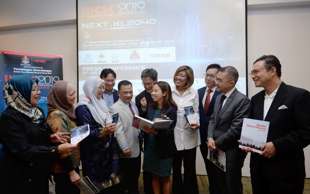 Launch of 11th International Conf. on World Class Sustainable Cities 2019 at Wisma REHDA at Kelana Jaya, PJ.
