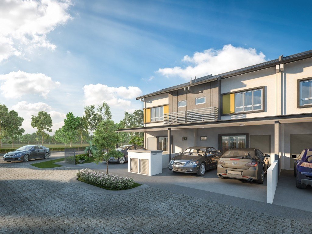 Artist impression of Kita Harmoni, one of the new projects launched at the township of Kita@Cybersouth.