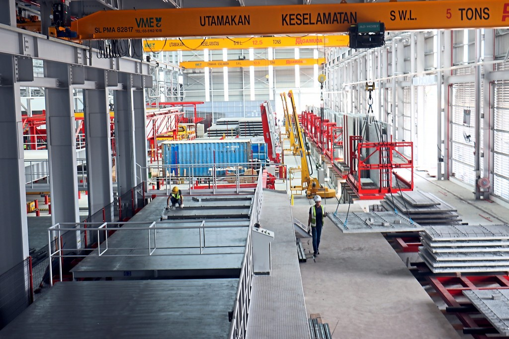 IBS manufacturing plants, such as Gamuda's facility in Banting, combine the planning efficiencies of BIM with the cost savings of prefabrication to drastically lower the cost and delivery time of buildings.