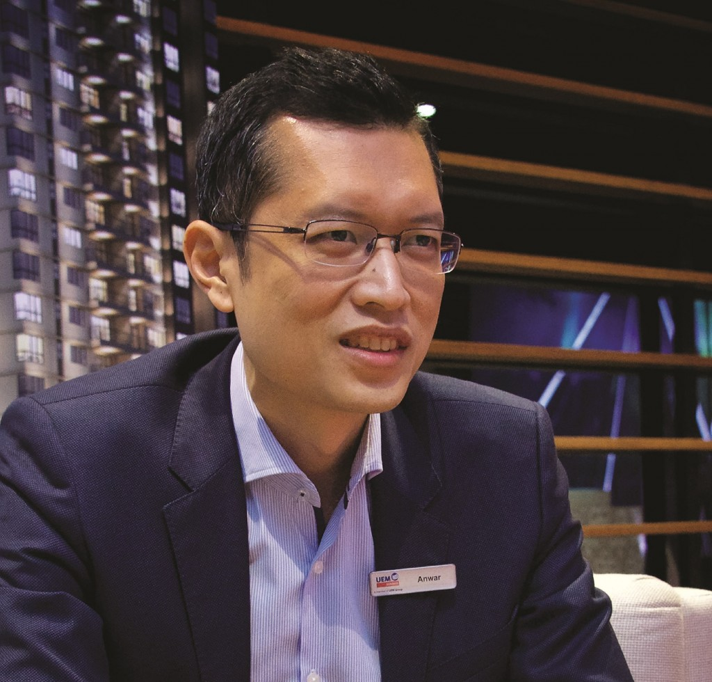Anwar said one of the keys to success in the property sector is to be close to your customers.