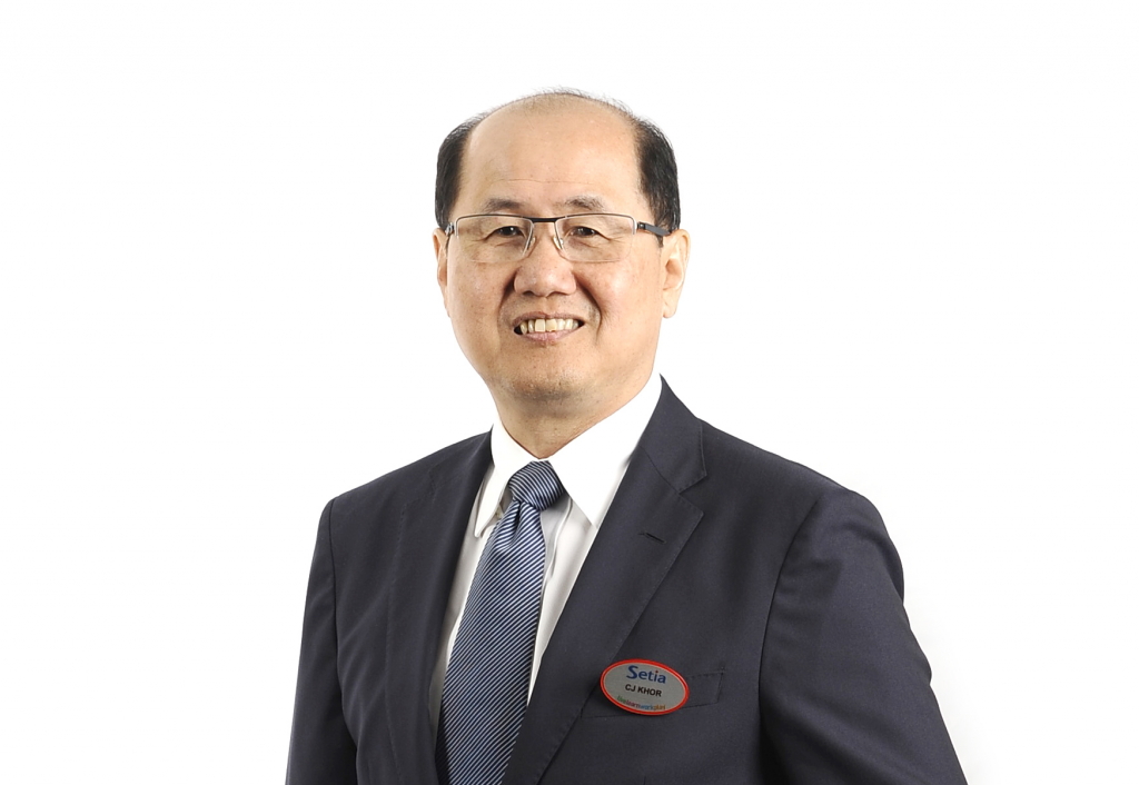 SP Setia is confident of retaining its position as the leading developer in Malaysia, said Khor.