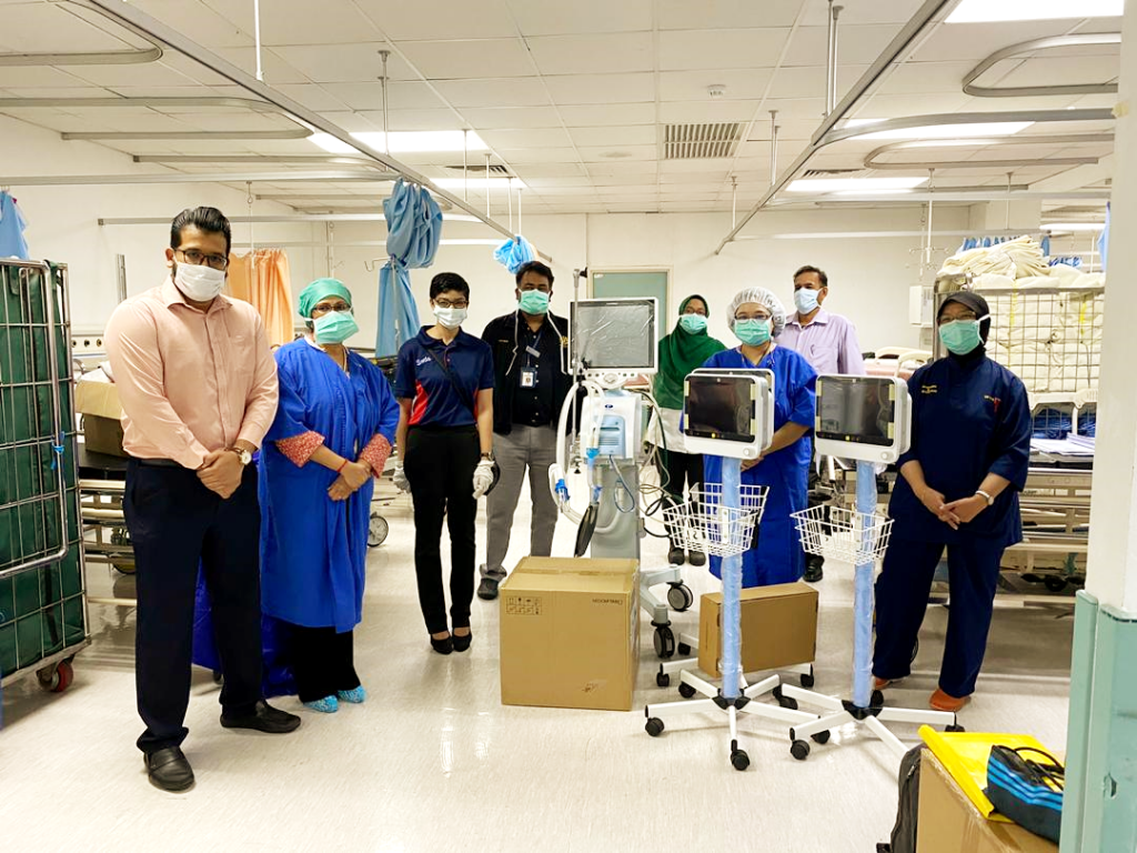 SP Setia's charity arm SP Setia Foundation donated RM500,000 worth of medical equipment and supplies.