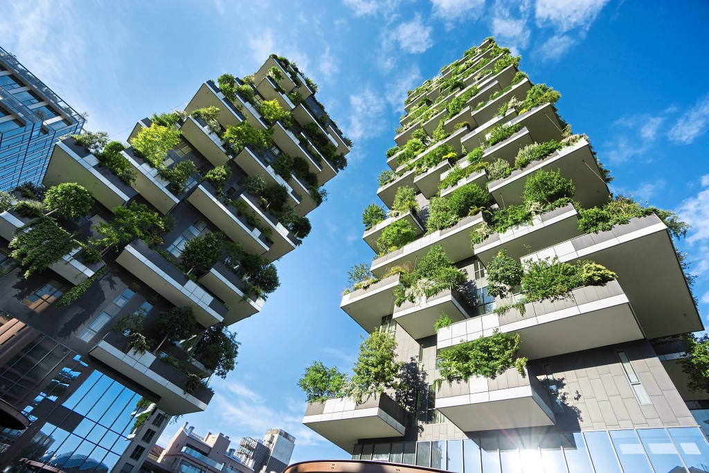 Green features are also good for the environment.