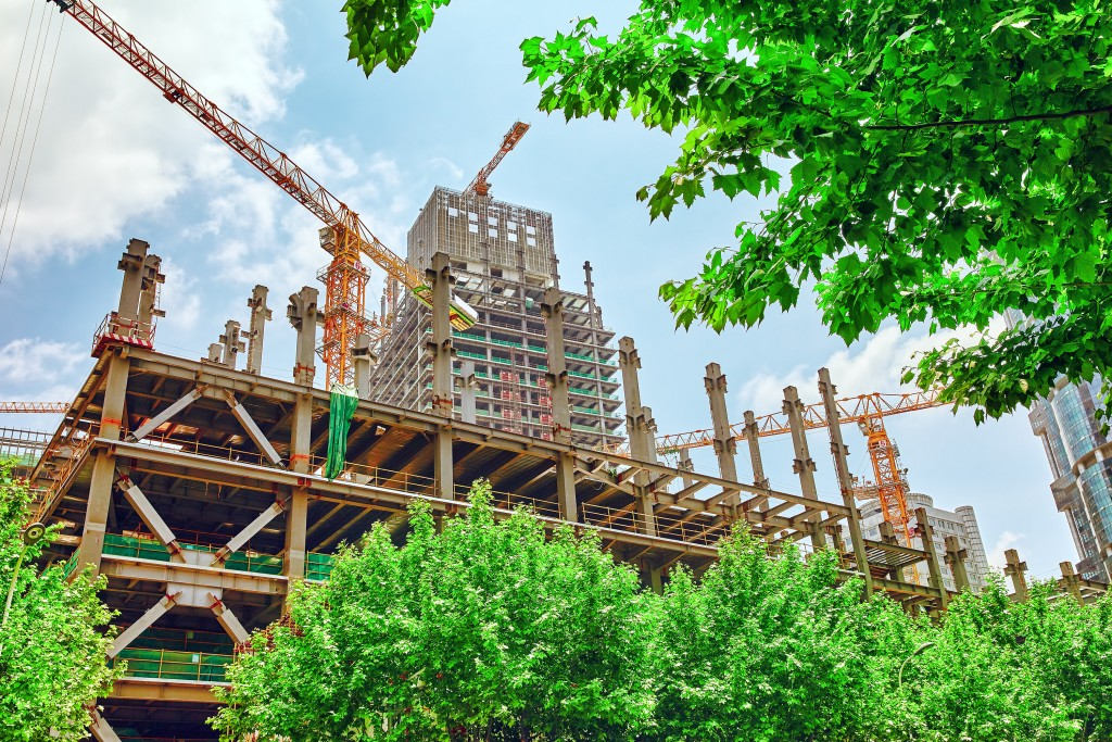 Developers have been slowing their property launches, helping to reduce the overhang.