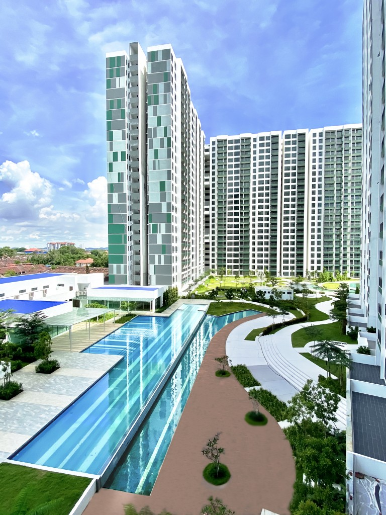 8scape Residences spans 9.2 acres of freehold land.