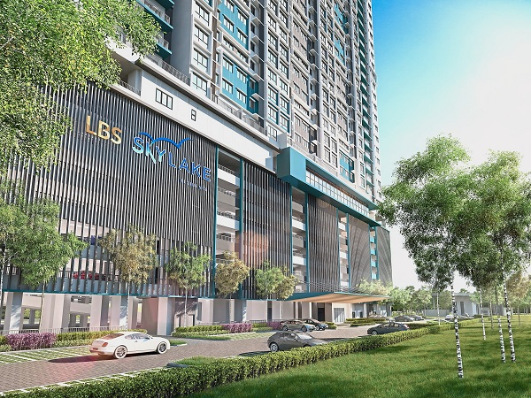 SkyLake Residence offers 746 units of serviced apartments within two blocks.