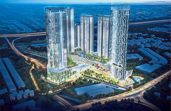 EkoGateway is a 14.5-acre mixed development comprising lifestyle mall, serviced apartment, office and hotel.