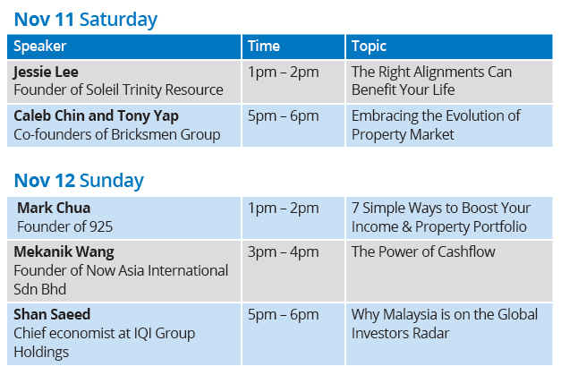 KLCC Fair talk schedule