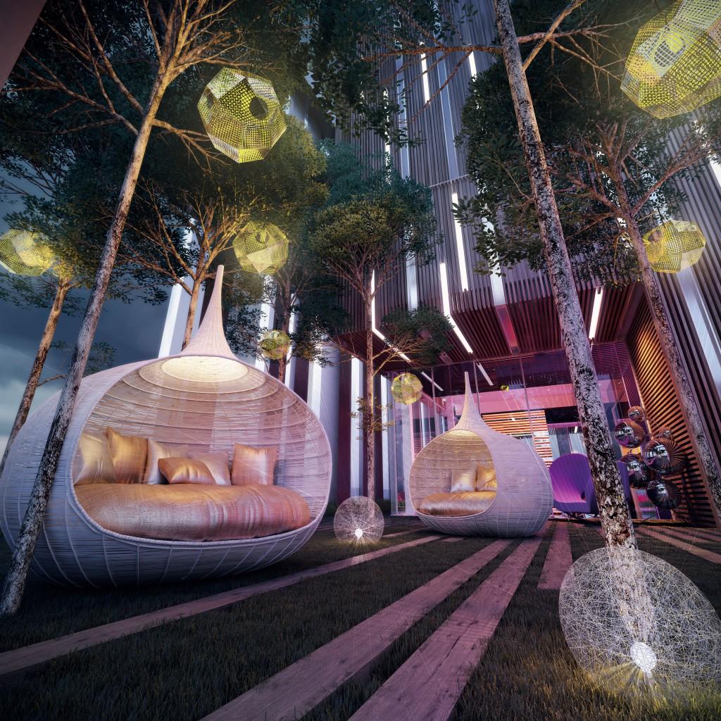丽阳豪庭打造现代都市的休闲空间。