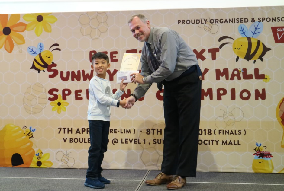Sunway Velocity Mall's first spelling bee creates buzz