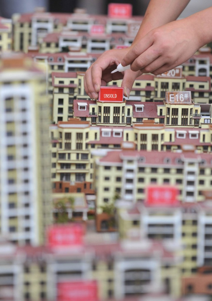 home prices go down in some Chinese cities