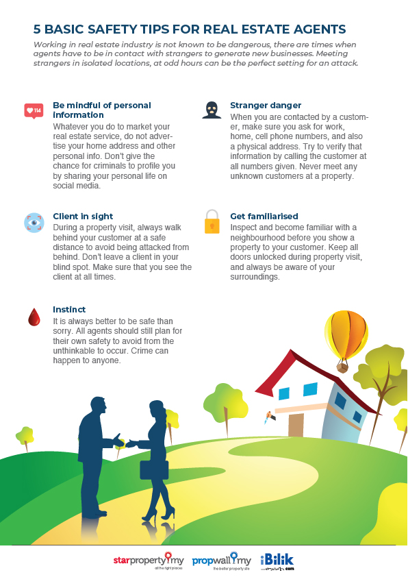 safety tips for real estate agents_StarProperty