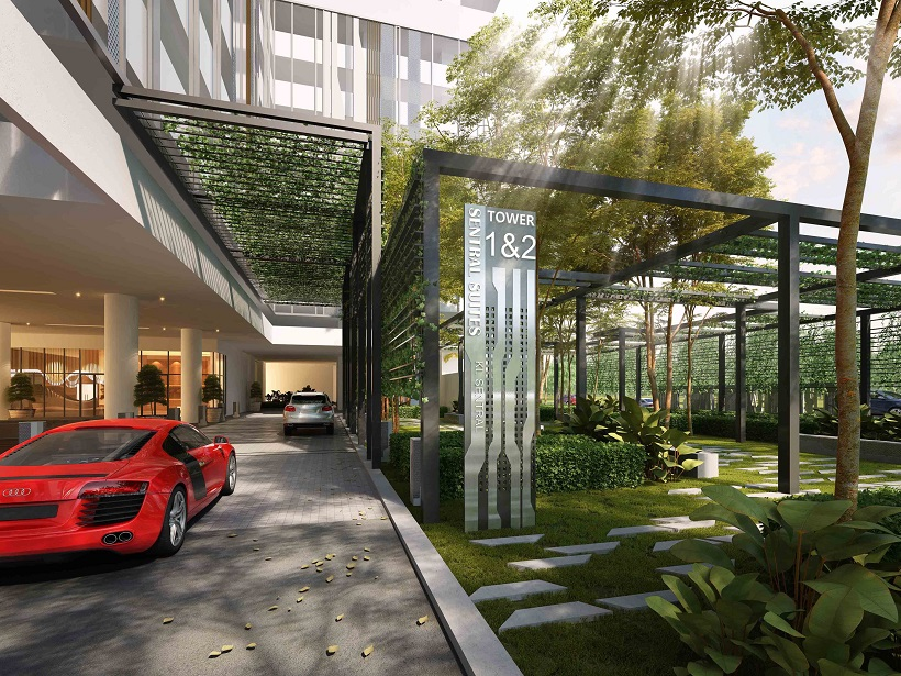 为满足投资买家的需要,发展商提供双钥匙单位,内含二房及一间套房。