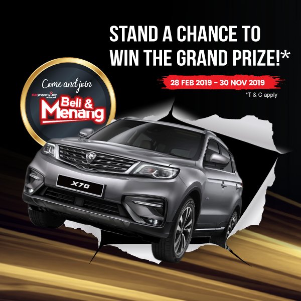 The Grand Prize of the Beli & Menang contest unveiled