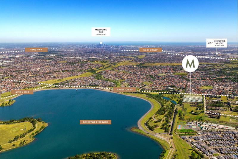 M.Greenvale位于墨尔本北区,有火车铁路,又有快捷公路,往返墨市中心只需25分钟,便捷无忧。