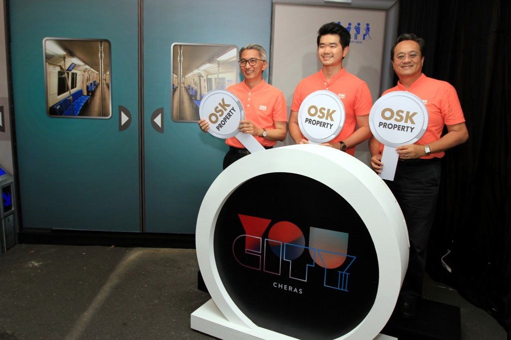 OSK Property's integrated transit-oriented development You City III official launch.