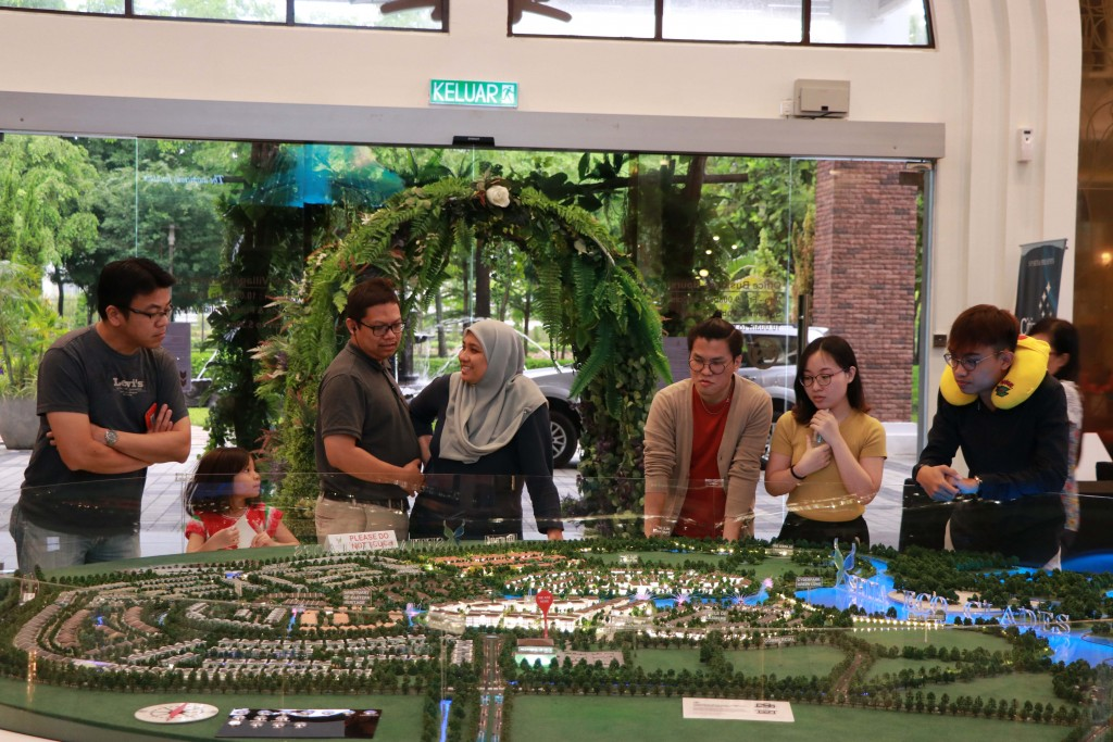 SP Setia's Setia Eco Glades in Cyberjaya launched Reef of Tropic (Phase C1) at its sales gallery recently.