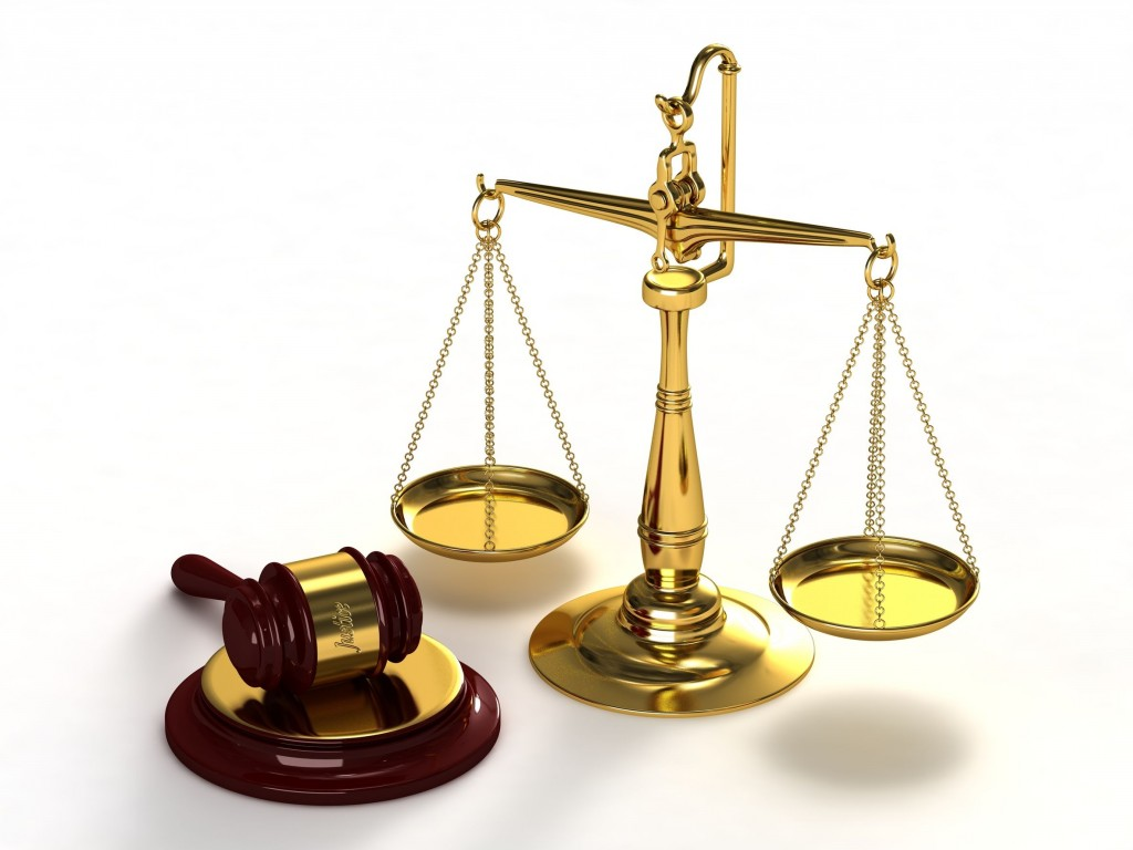 12065778 - scales of justice and gavel.