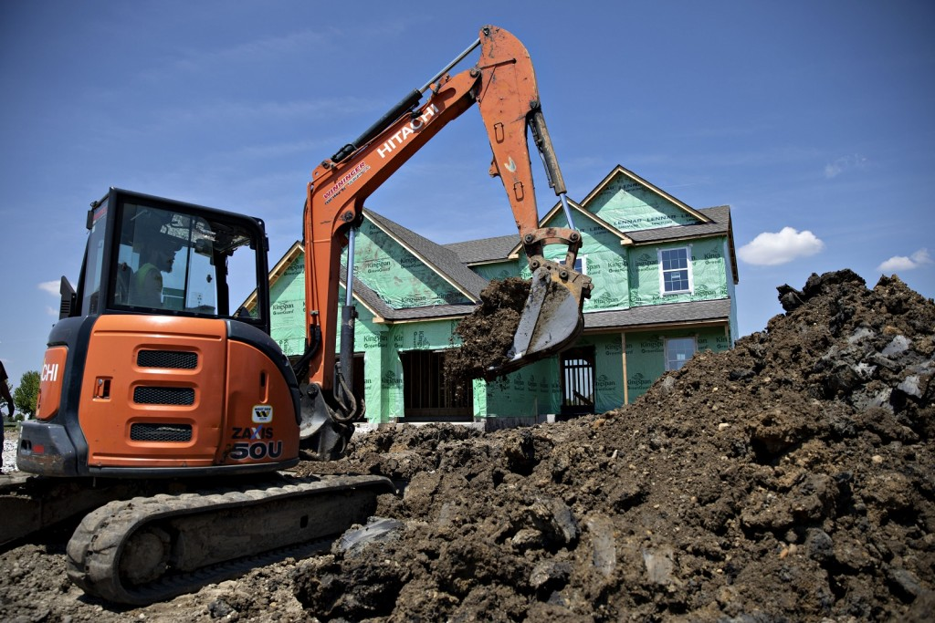 Residential Construction As Housing Starts Figures Released
