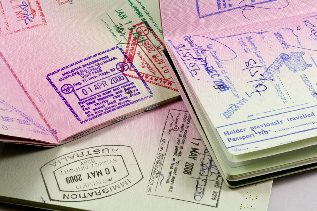 GENERIC: Passeport, Asia, Stamp, Visa, passport