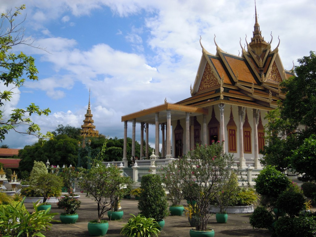 The Royal Palace in Phnom Penh is recognised as one of the top destination choices in Cambodia by TripAdvisor.